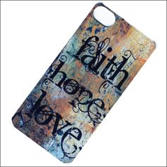 christian faith iphone 4 case, iphone4 cover, iphone case. $15.00, via Etsy.