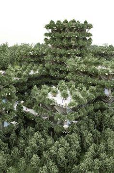The Future City of Bamboos – Fubiz Media
