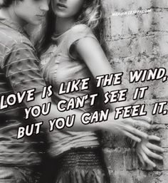Words of Wisdom | Love is like the wind. You can't see it, but you can feel it! | From Shah Altmash - Google+