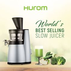 #Hurom is the best Slow #Juicer brand in the World,focused on creating products and technologies that benefit people and their health. #slowjuicer #huromindia #goodhealth