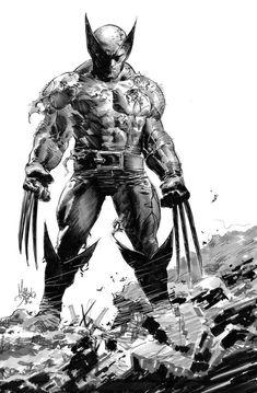 Mike Deodato, Marvel, Wolverine, X Men, Badass, Batman, Sci Fi, Superhero, Cosplay