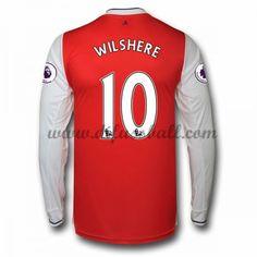 Neues Arsenal 2016-17 Fussball Trikot Wilshere 10 Langarm Heimtrikot Shop