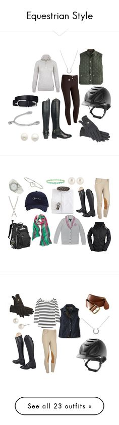 """Equestrian Style"" by leslie-paige ❤ liked on Polyvore featuring Chaps, DUBARRY, Reeds Jewelers, J.Crew, Ariat, Sperry Top-Sider, Lauren Active, Henri Bendel, Dorothy Perkins and Ippolita"
