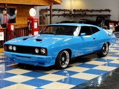 ◆ Visit MACHINE Shop Café... ◆ ~ Aussie Custom Cars & Bikes ~ (1976 Ford XC GT Falcon Coupé)