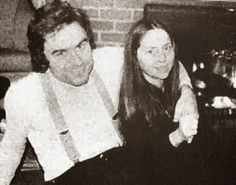 Ted Bundy with his long term long distance girlfriend Liz Kloepfer.