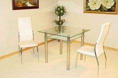 Hal Square Table with 2 Chairs