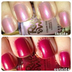 Ruby Wing Color Changing Nail Polish in Lily -> I finally got my mitts on this, and it is beauteous...I want more of them >.>;