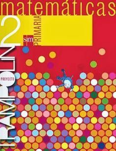 Libro de la Ediortial S.M., proyecto Trampolín (con Pupi como protagonista), correspondiente a Matemáticas de 2º Nivel de Educación Primaria.