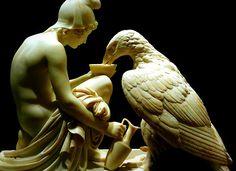 Zeus  Ganymede   1817