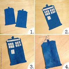 DIY: TARDIS Cat Toy   allonsykimberly.com