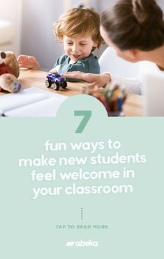 7 fun ways to make the transition easier on your new student! Christian School, New Students, Read More, Welcome, Classroom, Feelings, Reading, Fun, Class Room