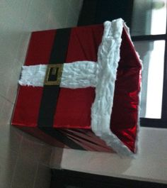 caja navidad papa noel