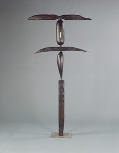 Bourgeois, Louise American, born France, 1911 - 2010 The Winged Figure 1948, cast 1991 bronze overall: 179.1 x 95.3 x 30.5 cm (70 1/2 x 37 1/2 x 12 in.)