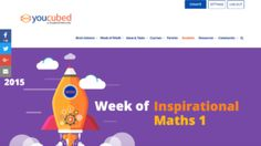 YouCubed: Think like a Mathematician    What it is: Do you know about Stanford's YouCubed? If you are a math teacher (and even if you aren't) you need to know about this awesome resource! It is packed full of goodness for teachers and p   http://ilearntechnology.com/wordpress/?p=5674