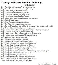 Writing Blog 30 day Challenge.