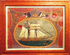 Inventory | Earle D. Vandekar of Knightsbridge Inc. Royal Navy Frigates, Piero Fornasetti, Merchant Navy, Rare Images, Royal Marines, Navy Ships, Sailors, 19th Century, Folk Art