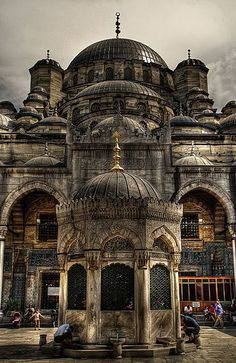 Eminönü Yeni Cami, Fatih, İstanbul..