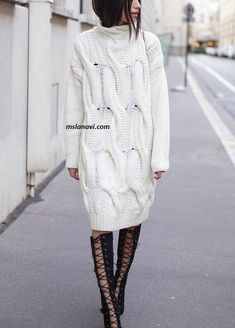 44 ideas knitting lace tunic ravelry for 2019 Winter Mode Outfits, Winter Fashion Outfits, Fashion Corner, Latest African Fashion Dresses, Knitted Coat, Lace Tunic, Knitting Accessories, Knit Fashion, Lace Knitting
