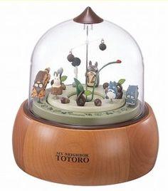 My Neighbor Totoro Clock and Music box.