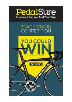 Visit us this Saturday at Manchester's Velodrome for the final of the Revolution Series and compete in our Track Stand competition to be in for a chance at winning a bike. Revolution Series, Competition, Track, Bike, Shape, Bicycle, Runway, Fit, Truck
