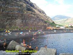 La Palma consigue este año 5 banderas azules para sus playas #Canarias -  Imagen Puerto-Tazacorte