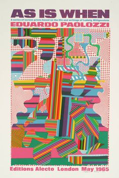 Paolozzi, Tate, 1965.