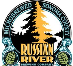 Russian River Brewing Company in Santa Rosa, CA was originally owned by Korbel Champagne Cellars and was founded on their historic and beautiful property amidst vineyards and redwoods near the Russian River.