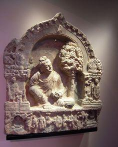 Bouddha Gandhara Schiste
