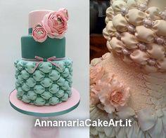 Chi ha sperimentato la tecnica del Billowing Cake? Si possono creare degli effetti straordinari per torte da cerimonia e di compleanno! ;)  #CakeDesign #AnnamariaCakeArt #billowing #thecnique #cakes #cakedecorating #modelling #caketopper #cakemania  #sugarart #cakeart #arts #fondant #cakeartist #cake #gumpaste #flower
