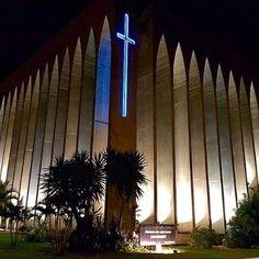 A belíssima igreja Dom Bosco