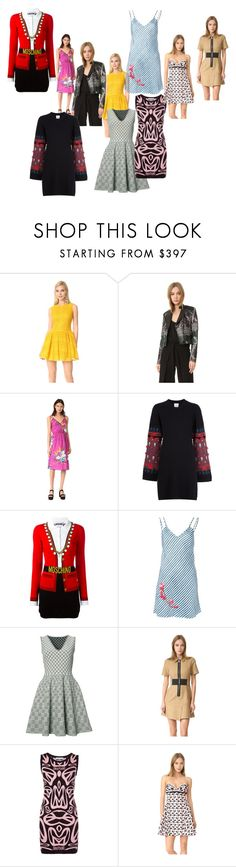 """""""amazing offer"""" by denisee-denisee ❤ liked on Polyvore featuring RED Valentino, Yigal AzrouÃ«l, Marc Jacobs, Barrie, Moschino, Carven, Alexander McQueen, Alexander Wang, Giambattista Valli and vintage"""