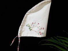 19번 초화화 자수두건(9.5) : 네이버 블로그 Reusable Tote Bags, Beanies, Tejidos, Garden Decorations, Caps Hats, Dressmaking