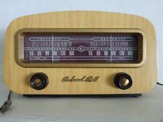 "RARE Vintage ""Dual Tuning"" Packard Bell Tube Radio Model 602 | eBay"