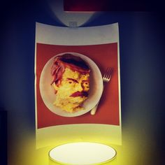 Ron Swanson is LIT-RALLY all the bacon and eggs. | #ParksandRec