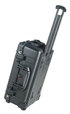 Pelican 1510 Case with Foam (Camera, Gun, Equipment, Multi-Purpose) - Black