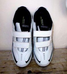 Skechers Men's Memory Foam Athletic Shoes Size 12 NO LACES Hook And Loop Design #Skechers #AthleticSneakers