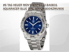 #6 TAG HEUER MEN'S WAP1112.BA0831 AQUARACER BLUE DIAL WATCH B004ZMU9O6