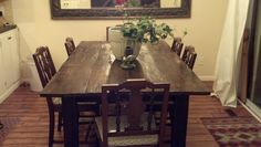 DeVeauLLC Custom Barnwood table