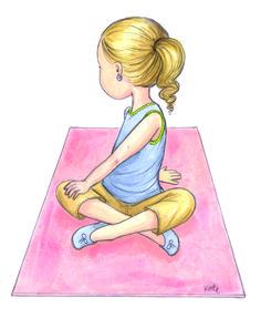 yoga simple poses visit designtaxi happier teach childhood illustrations fun