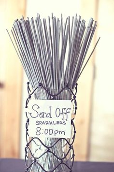 Where to shop for Wedding Sparklers | The Budget Savvy Bride @The Budget Savvy Bride : Jessica Bishop
