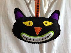Decoraciones de Halloween fieltro Bat cráneo por MichelleGood