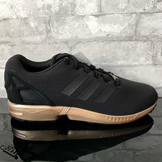 Adidas ZX Flux W Black Copper Metallic Rose Gold S78977 Size 5-11