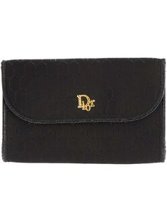 Christian Dior Vintage logo clutch bag