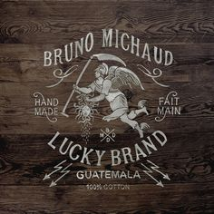 Lucky Brand by BMD ... Bordeaux, France | Calligraphy | Landscape Design | Typography |