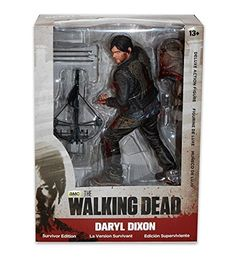 The Walking Dead - Daryl Dixon 25cm Deluxe Figur bloody Version by McFarlane @ niftywarehouse.com #NiftyWarehouse #WalkingDead #Zombie #Zombies #TV
