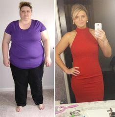 Cuestion de peso antes y despues de adelgazar