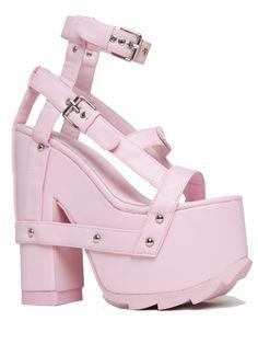 0719ef70044b NIGHTCALL - PINK. Wrap ShoesPlatform ...
