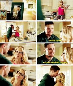 Felicity and Oliver #Olicity #arrow tumblr sneak peak