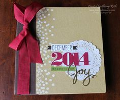 Sherry's Stamped Treasures: Hello December Daily Album