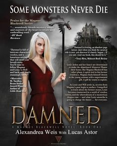 """Edge of your seat, haunting tale of terror, voodoo, and adventure."" Bound to a spirit with a sinister history, a woman with a dark power will battle to rule the realm of the dead… Coming 10/3 Preorder: https://books2read.com/Damned"